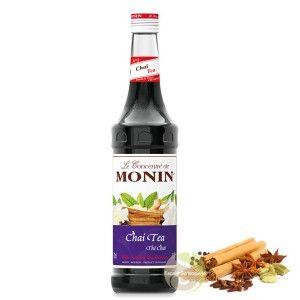 Thé Chai latte sirop Monin recette cocktails pâtisserie made in France   Escale Sensorielle