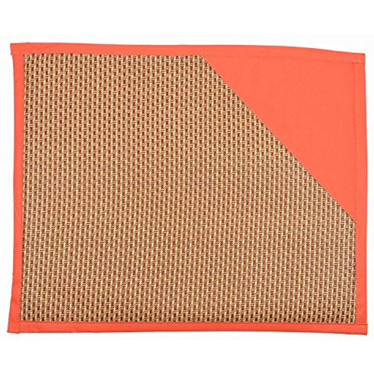 Zaote Pet Mat Cool Pad Anti-Slip Fine Stripes In Summer Orange ~~ You can see this great product. (This is an affiliate link and I receive a commission for the sales)