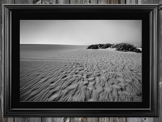 Sand beach dunes Texture black and white by NadbradDesigns on Etsy