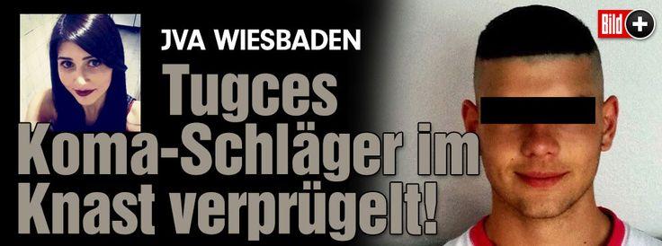 JVA Wiesbaden: Tugces Koma-Schläger im Knast verprügelt! Wie schwer er verletzt wurde… http://www.bild.de/bild-plus/regional/frankfurt/tugce-a/tugce-schlaeger-verpruegelt-39605524,var=a,view=conversionToLogin.bild.html