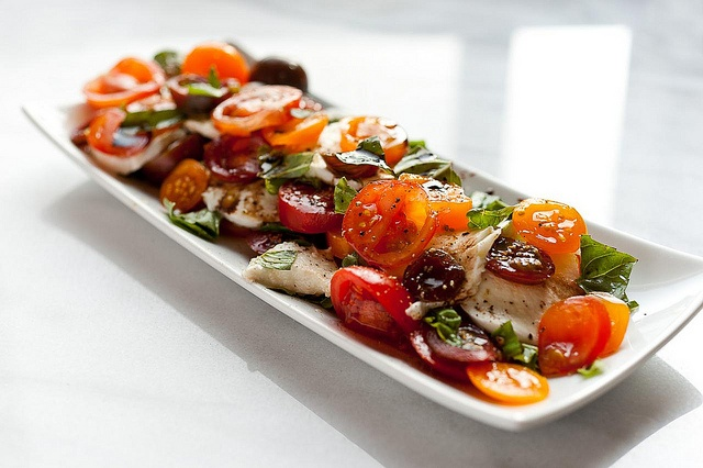Heirloom Tomato Caprese Salad | Food and Drink | Pinterest