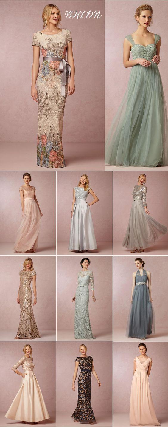 22 Vestidos lindos para mãe da noiva e noivo: