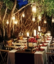 Outdoor Dinner Party hosting
