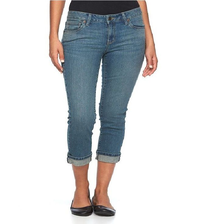 496 best Women's Denim Capri images on Pinterest