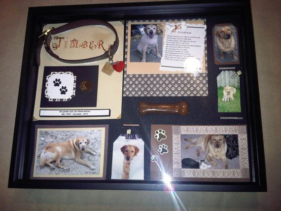 pet shadow box memorial shadow box for by modernclassicbycarol candles and home decor. Black Bedroom Furniture Sets. Home Design Ideas