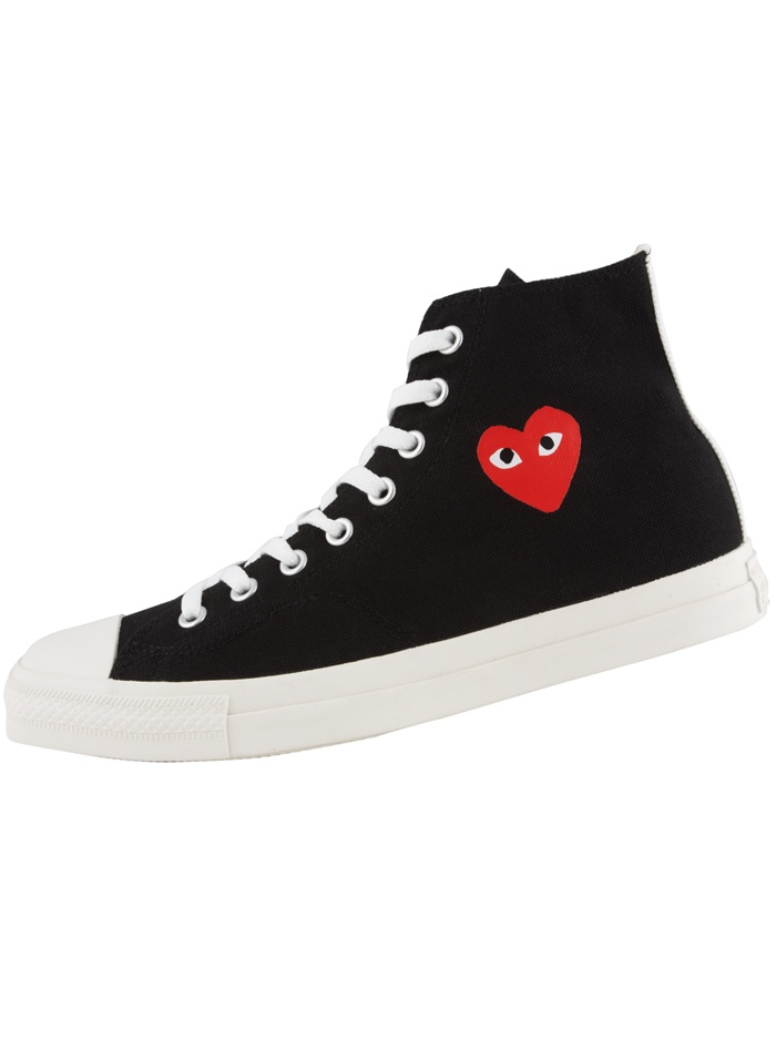 Play-ful take on the Chuck Taylor from Rei Kawakubo et al.