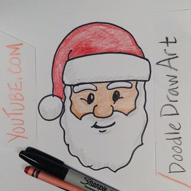 easy things to draw for kids for christmas