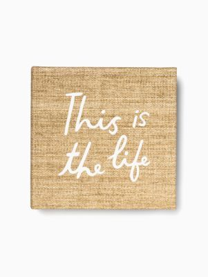 This is the Life Large Photo Album | Kate Spade New York