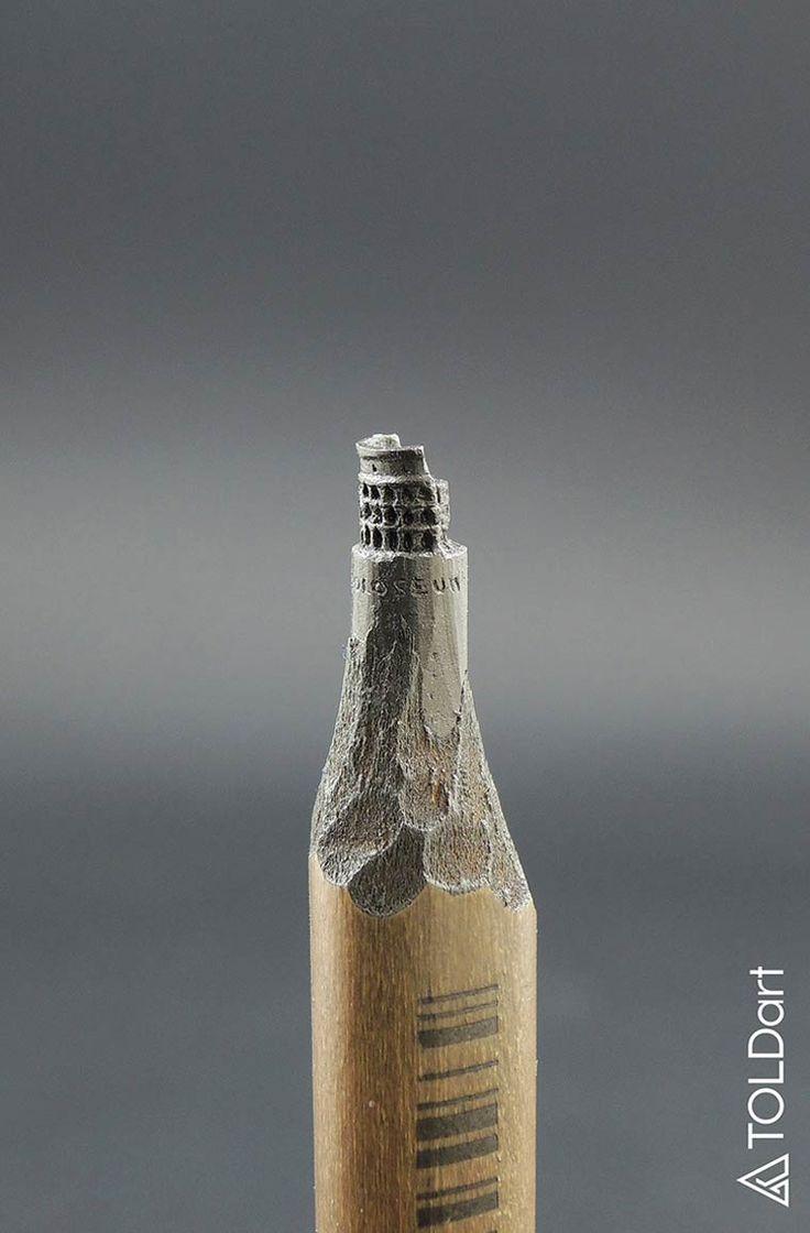 Jasenko Dordevic qui réalise des magnifiques sculptures sur des mines de crayon ! - http://www.laregalerie.fr/des-superbes-mines-de-crayon-sculptees/