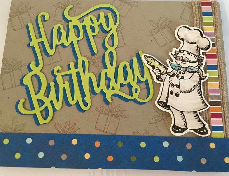Birthday Delivery & Happy Birthday thinlit