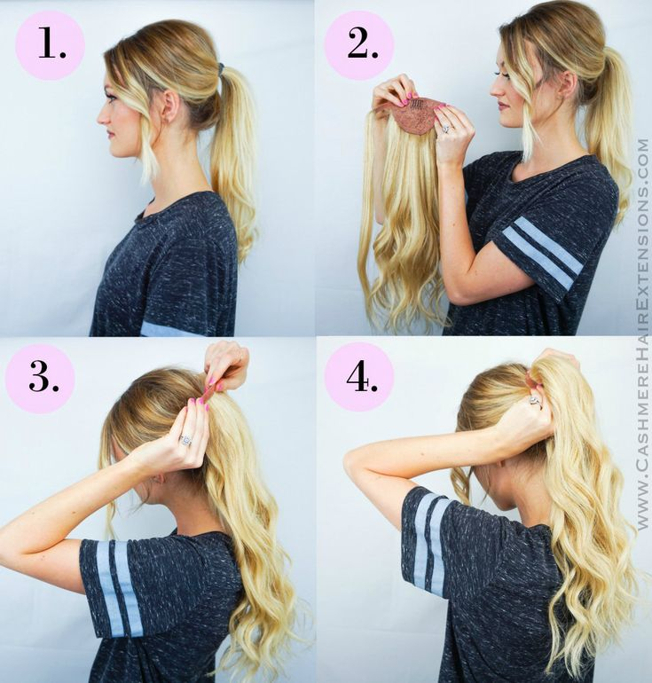 30 best hair tutorials images on pinterest braids hair easy wrap ponytail extensions by cashmere hair extensions shop httpwww pmusecretfo Image collections