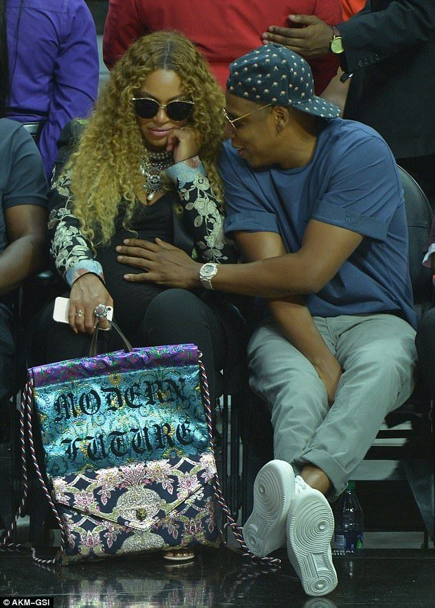 Expanding their family: The celebrity couple, who wed in 2008, are already parents to daughter Blue Ivy, who is five