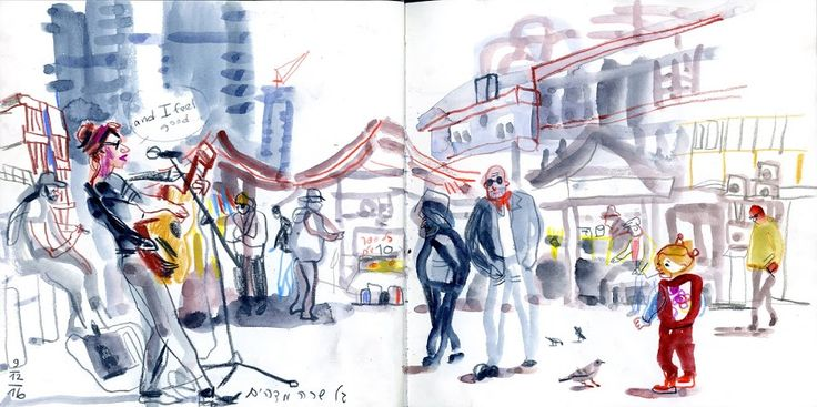 Urban sketchers show the world, one drawing at a time.