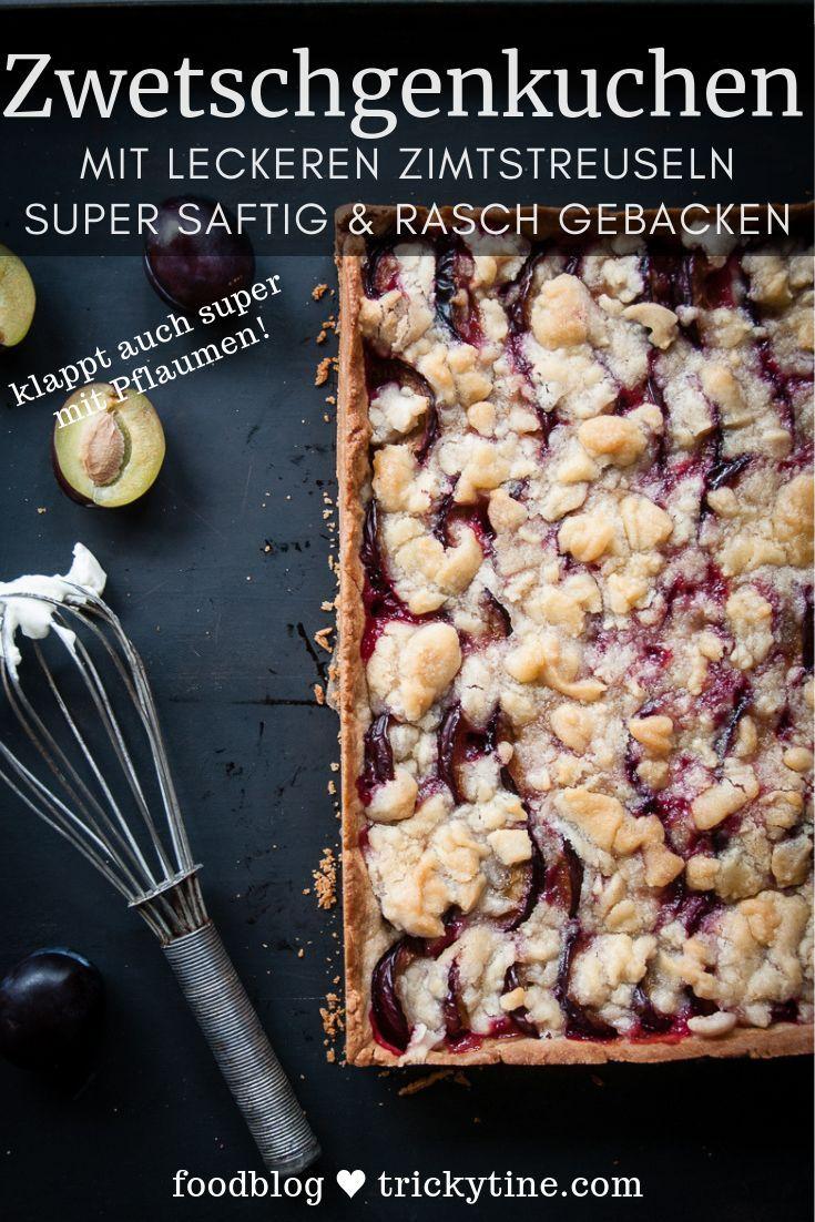 Zwetschgenkuchen mit Zimtstreuseln – we call it a Klassiker!