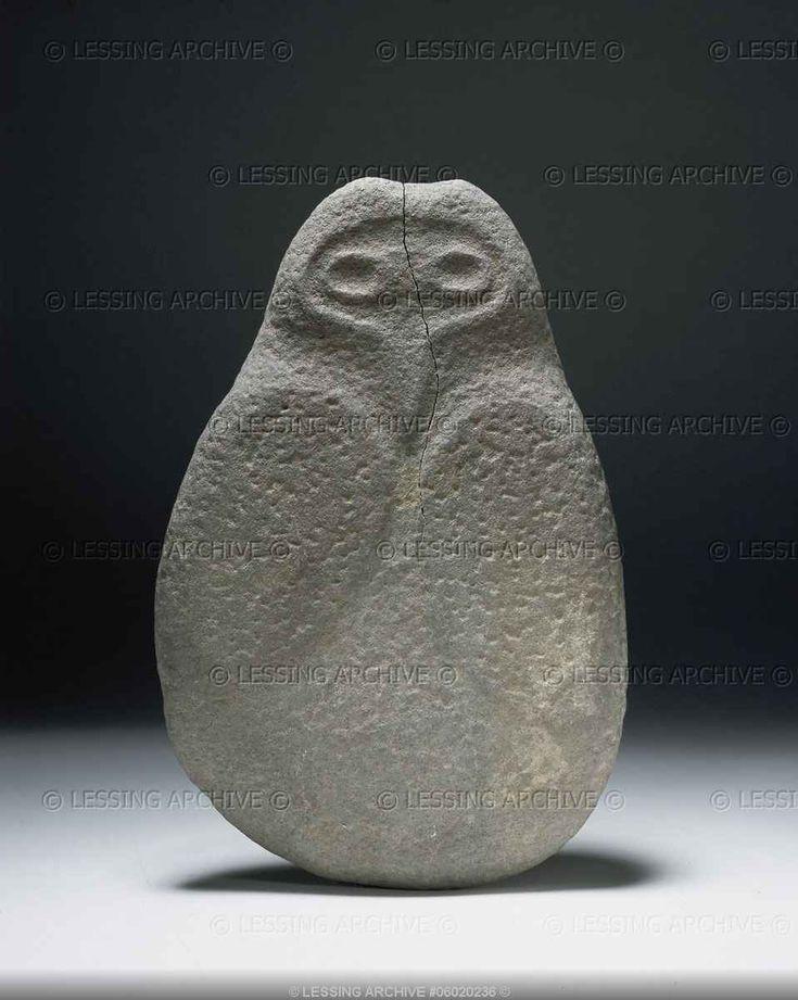 Sculpture,owl, 26 x 17 cm. From Algeria.