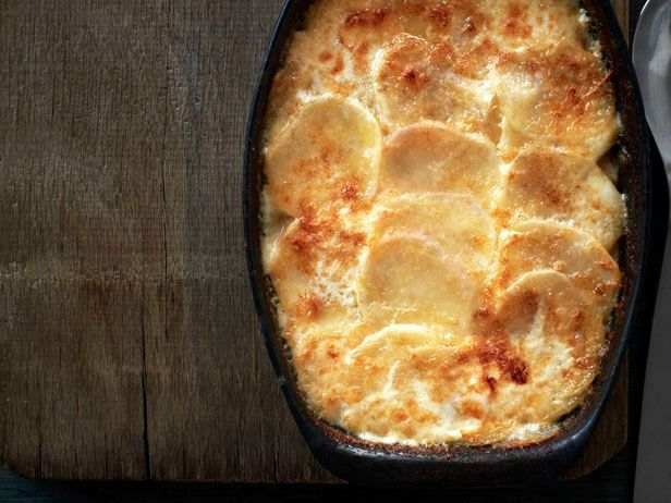 Sage Potatoes Au Gratin from #FNMag