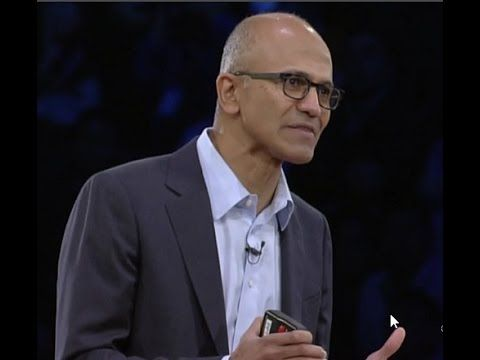 CEO Satya Nadella Keynote Speech at Microsoft WPC 2016