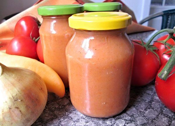 Pikantní zeleninová hořčice