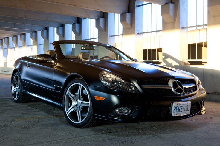 Mercedes slk 550 amg the mercedes benz sl550 night for 550 amg mercedes benz