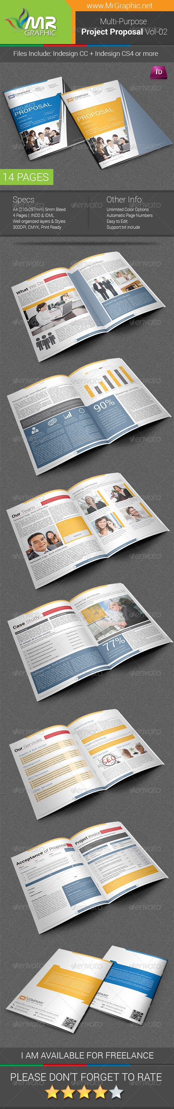 Project Proposal Template Vol 02 91 best Print