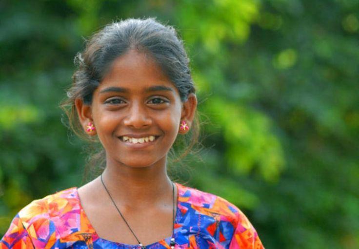 East Sri Lankan young girl.