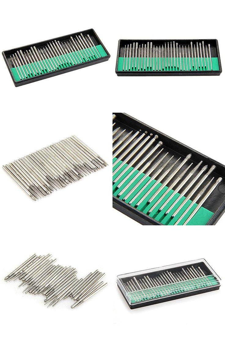 "[Visit to Buy] EWS Kit 30 Punte Drill Trapana Fresa 3/32"" per Manicure Pedicure Nail Art SODIAL #Advertisement"