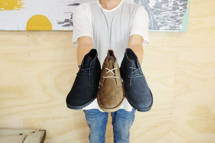 ::: SULTAN II ::: Ripple sole desert boot in three flavours: Black, Light Coffee and Charcoal. http://www.urgefootwear.com.au/mens-shoes-online/sultan-charcoal-suede