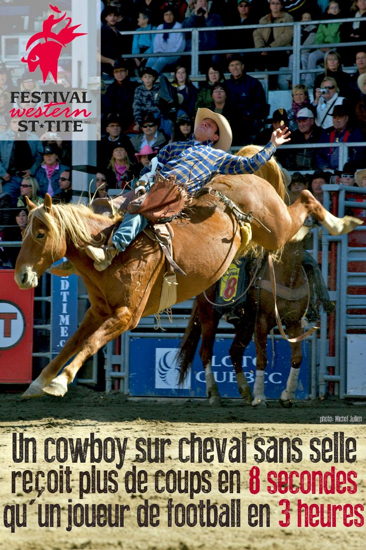 In 8 seconds, a cowboy is badly injured than a football player in 3 hours / Festival Western de St-Tite / #mauricie #canada #quebec #rodeo #festival #western #cowboy #country #st-tite #horse #horses #horseriding
