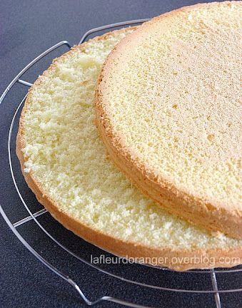 Recette De Genoise Inratable Ma Fleur D Oranger Baking Queen