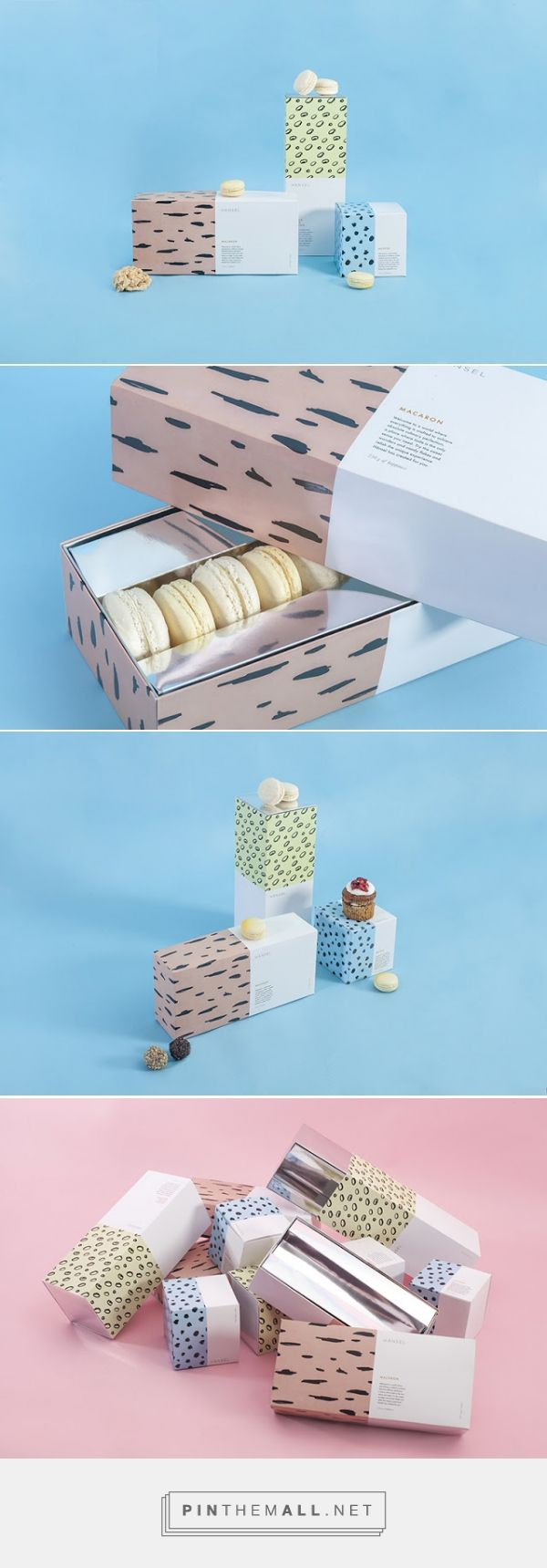 HÄNSEL #Pastry #packaging designed by CHAPTER - http://www.packagingoftheworld.com/2015/05/hansel.html
