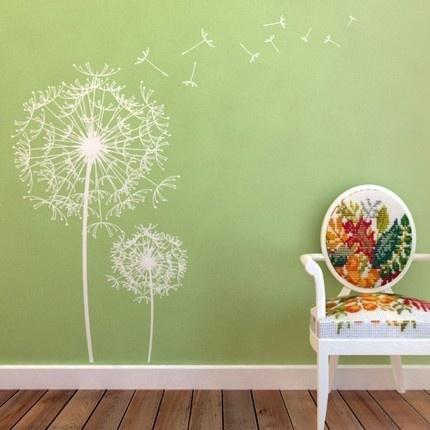 Dandelion Wall Decals