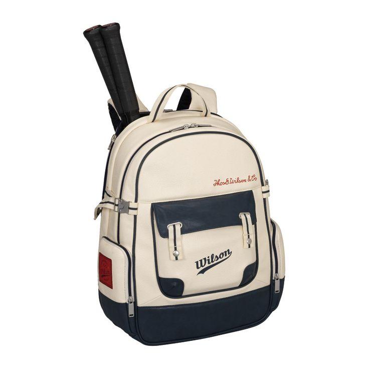 Wilson Heritage Backpack (2016) - Tennis - Racket Bags - Stringers World
