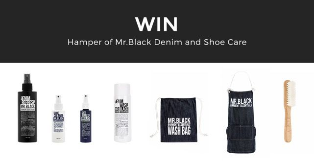 Win a Hamper of Mr. Black Denim and Shoe Care Products