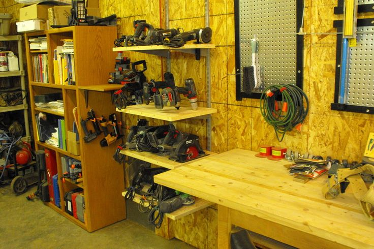 power tool storage. My hubby would love this
