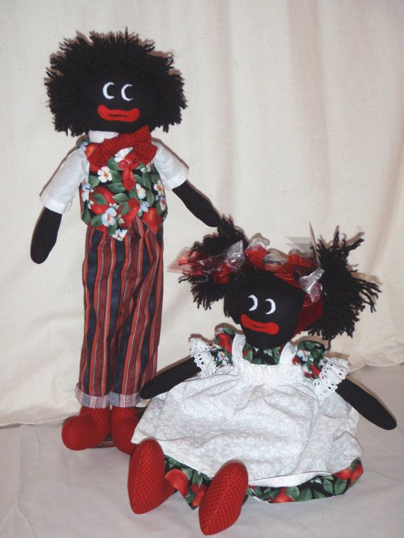 e Pattern  Maisie and Gordie  Cloth Doll by redhendesignsnz, $7.00