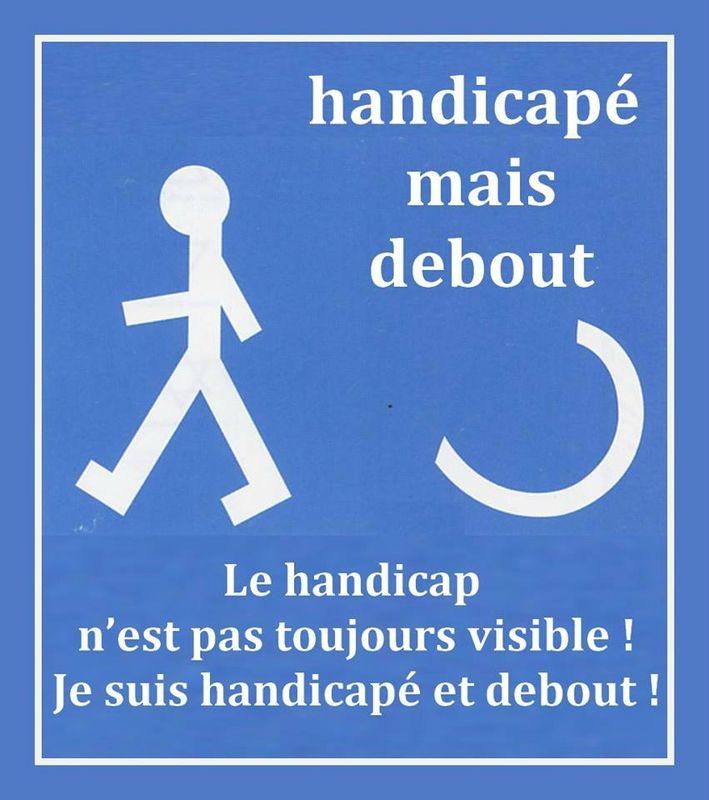handicap debout