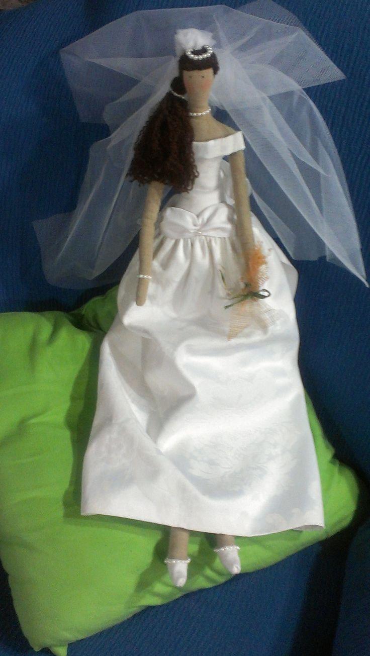 novia morena