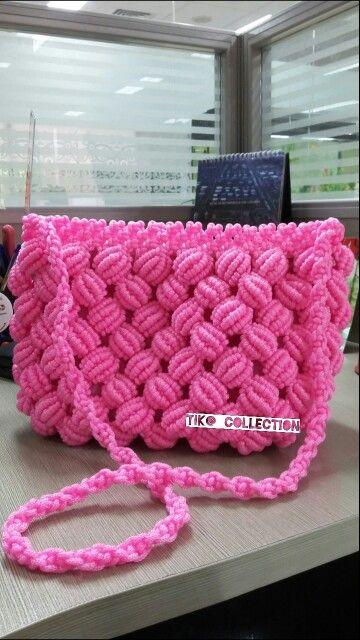 #pink #handmade #bags