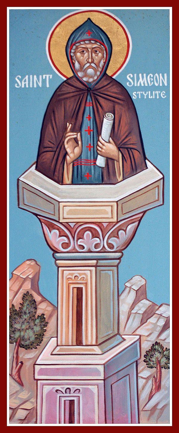 St Simeon Stylites, the Elder - Orthodox Church in America