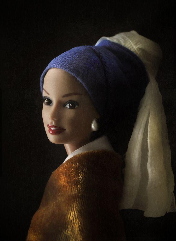 Barbie met de parel