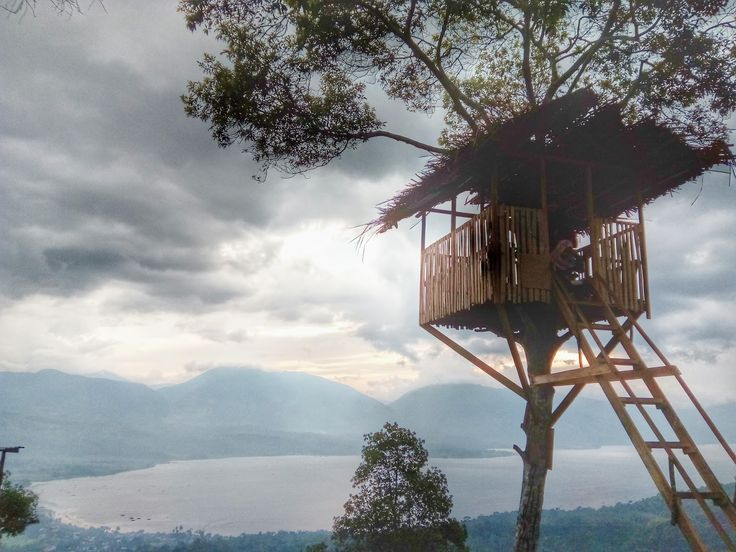 Puncak Gobah Sumatera Barat Menikmati Danau Singkarak Dari Ketinggian  - Sumatera Barat