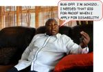 INTERNATIONAL SIGN LANGUAGE INTERPRETER SAYS HE'S SCHIZO...