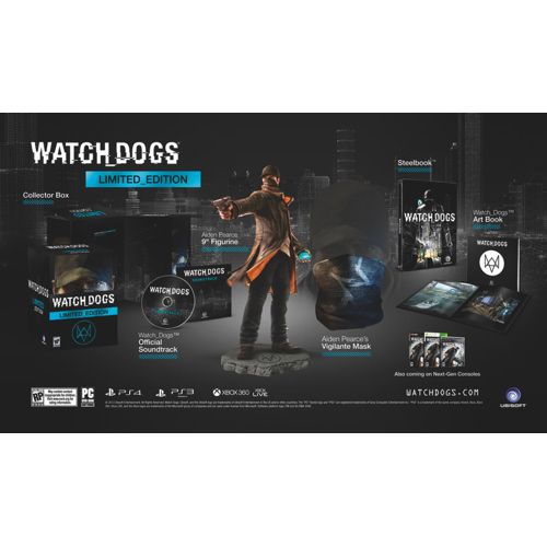 Watch Dogs Limited Edition (PlayStation 4)