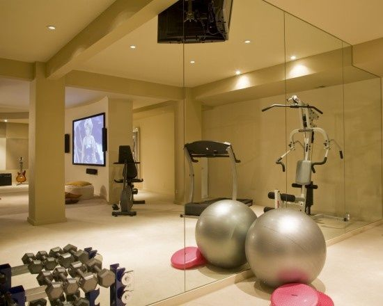 48 best Home Gyms images on Pinterest Home gyms, Gym room and - fitnessstudio zuhause einrichten