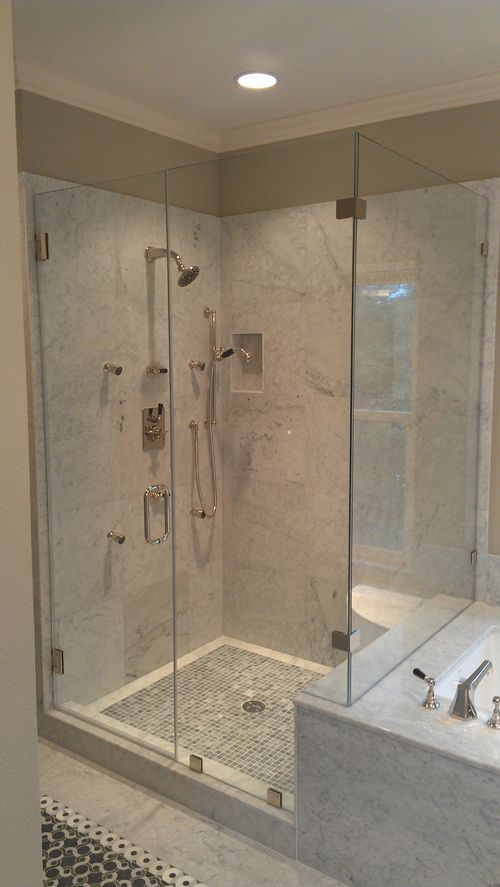 24 Best Images About Bathroom Makeovers Shower Doors On Pinterest Shower D