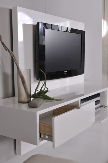 the 25 best floating tv unit ideas on pinterest floating tv cabinet floating entertainment. Black Bedroom Furniture Sets. Home Design Ideas