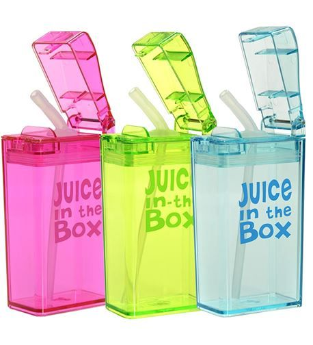 Juice in the Box Reusable Juice Box