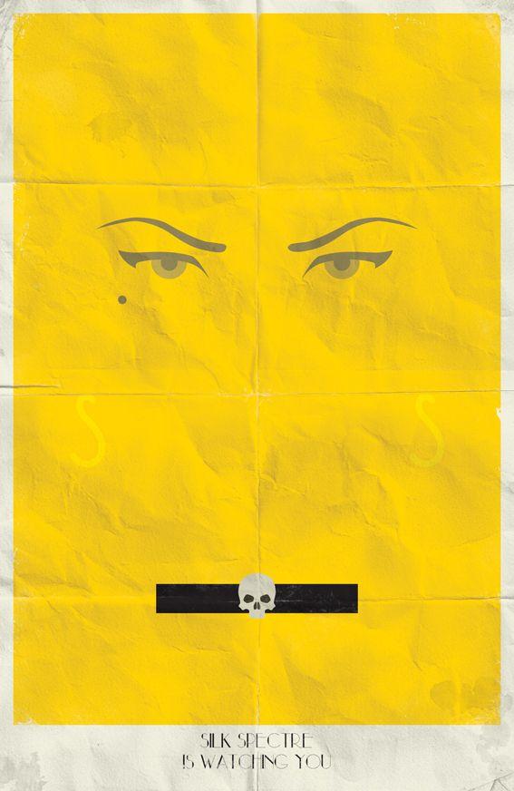 Watchmen Minimalist Posters by Marko Manev, via Behance