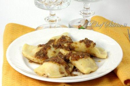 Ravioli di ricotta al gorgonzola