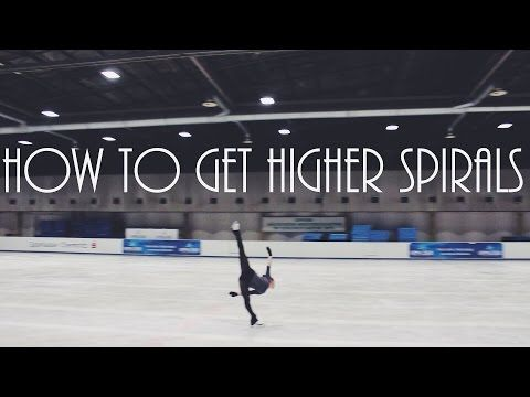 Figure Skating: How To Get Higher Spirals - YouTube